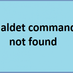 Maldet Command not found