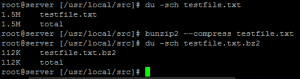 How to Compress Files Bunzip2 Command