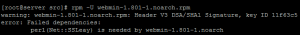 perlNetSSLeay is needed by webmin-1.801-1