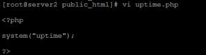 Uptime Linux Script