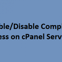 cPanel Compilers access
