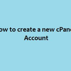 Create cPanel Account