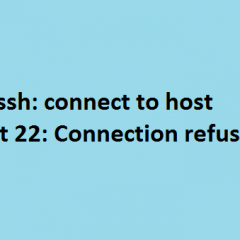 ssh-connection-refused