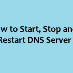 WHM DNS restart