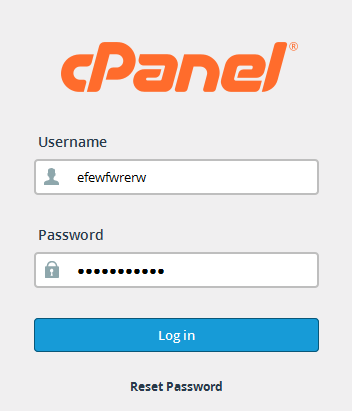 How to login cPanel
