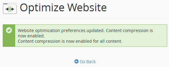 How to Enable Gzip Compression for a website on cPanel Server