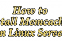Install Memcached Linux