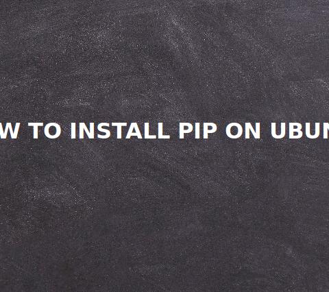 How to Install Pip on Ubuntu 16.04