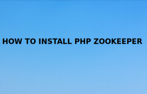 Install PHP zookeeper extension