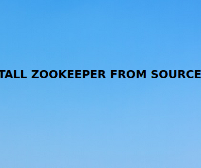 Install PHP zookeeper extension from source