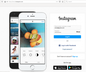 How to login to instagram