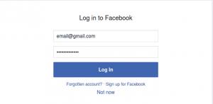 Log in to Instagram using Facebook account