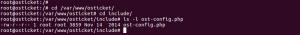 Osticket configuration file